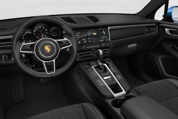 Porsche Macan SUV 4wd 3.0 T V6 354PS S 5Dr PDK [Start Stop] inside view