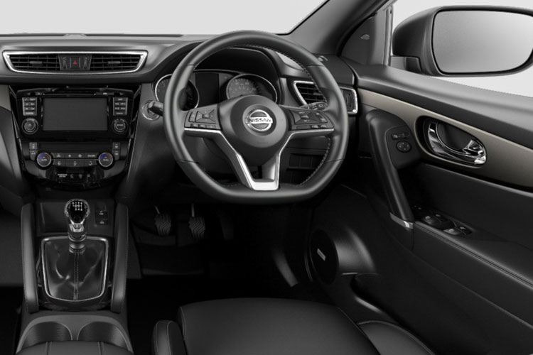 Nissan Qashqai SUV 2wd 1.3 DIG-T 140PS Acenta Premium 5Dr Manual [Start Stop] inside view