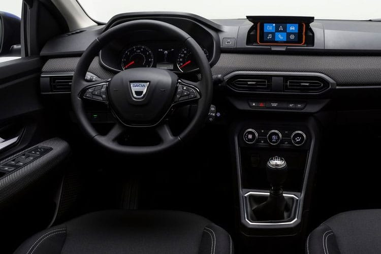 Dacia Sandero Stepway 1.0 TCe 90PS Comfort 5Dr CVT [Start Stop] inside view