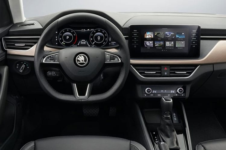 Skoda Scala Hatch 5Dr 1.0 TSi 95PS SE 5Dr Manual [Start Stop] inside view