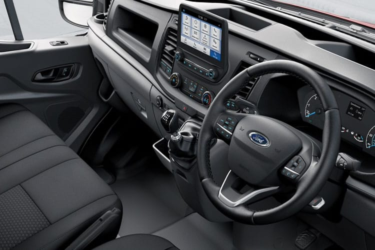 Ford Transit 350 L3 2.0 EcoBlue FWD 130PS Limited Crew Van Medium Roof Auto [Start Stop] [DCiV] inside view