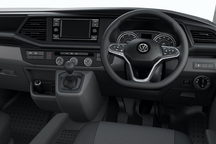 Volkswagen Transporter Kombi T32SWB 2.0 TDI FWD 150PS Startline Crew Van Manual [Start Stop] inside view