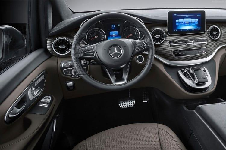 Mercedes-Benz V Class V300 Extra Long 5Dr 2.0 d 239PS Sport 5Dr G-Tronic+ [Start Stop] [8Seat] inside view